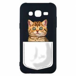 Чехол для Samsung J5 2015 Cat in your pocket