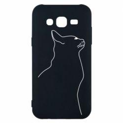 Чохол для Samsung J5 2015 Cat line