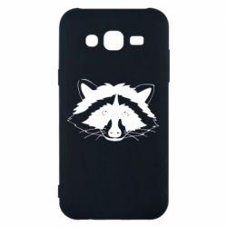Чохол для Samsung J5 2015 Cute raccoon face