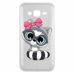 Чехол для Samsung J5 2015 Cute raccoon