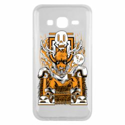 Чехол для Samsung J5 2015 Deer On The Throne