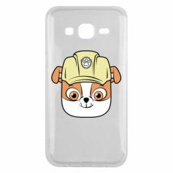 Чохол для Samsung J5 2015 Dog in helmet