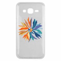 Чохол для Samsung J5 2015 Flower coat of arms of Ukraine