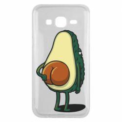 Чохол для Samsung J5 2015 Funny avocado
