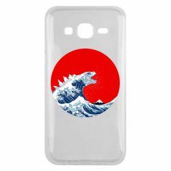Чохол для Samsung J5 2015 Godzilla Wave