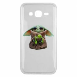 Чохол для Samsung J5 2015 Grogu and Kermit