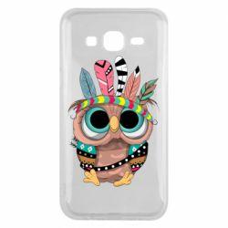Чохол для Samsung J5 2015 Little owl with feathers