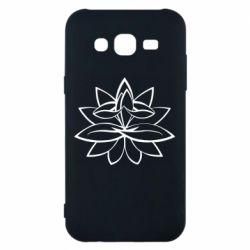 Чохол для Samsung J5 2015 Lotus yoga