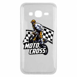Чехол для Samsung J5 2015 Motocross