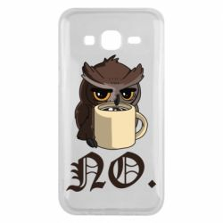 Чехол для Samsung J5 2015 Owl and coffee