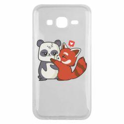 Чохол для Samsung J5 2015 Panda and fire panda