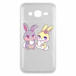 Чохол для Samsung J5 2015 Rabbits In Love