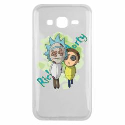 Чохол для Samsung J5 2015 Rick and Morty voodoo doll