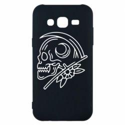 Чохол для Samsung J5 2015 Skull with scythe