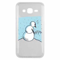 Чохол для Samsung J5 2015 Snowman. It's Cold!