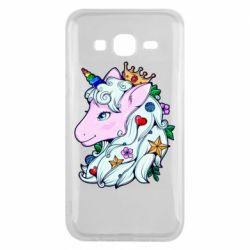 Чохол для Samsung J5 2015 Unicorn Princess