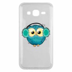 Чехол для Samsung J5 2015 Winter owl