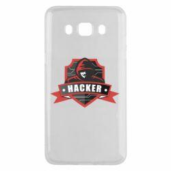 Чохол для Samsung J5 2016 Anonymous Hacker