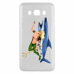 Чехол для Samsung J5 2016 Aquaman with a shark