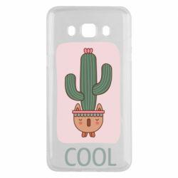 Чехол для Samsung J5 2016 Cactus art
