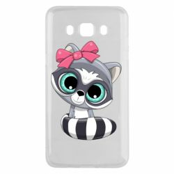 Чехол для Samsung J5 2016 Cute raccoon