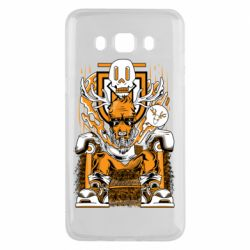 Чехол для Samsung J5 2016 Deer On The Throne
