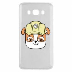 Чохол для Samsung J5 2016 Dog in helmet