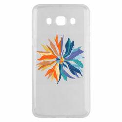 Чохол для Samsung J5 2016 Flower coat of arms of Ukraine
