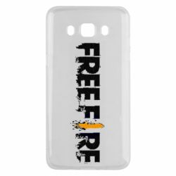 Чехол для Samsung J5 2016 Free Fire spray