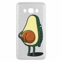 Чохол для Samsung J5 2016 Funny avocado