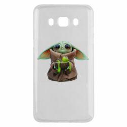 Чохол для Samsung J5 2016 Grogu and Kermit