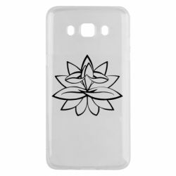Чохол для Samsung J5 2016 Lotus yoga