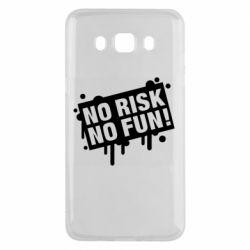 Чохол для Samsung J5 2016 No Risk No Fun