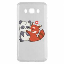 Чохол для Samsung J5 2016 Panda and fire panda