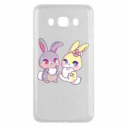 Чохол для Samsung J5 2016 Rabbits In Love