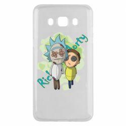 Чохол для Samsung J5 2016 Rick and Morty voodoo doll
