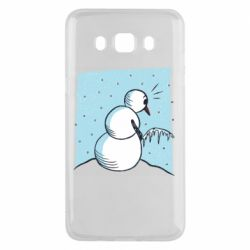 Чохол для Samsung J5 2016 Snowman. It's Cold!