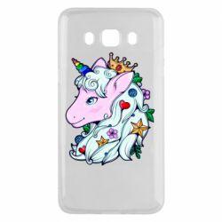 Чохол для Samsung J5 2016 Unicorn Princess