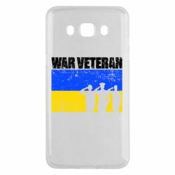 Чохол для Samsung J5 2016 War veteran