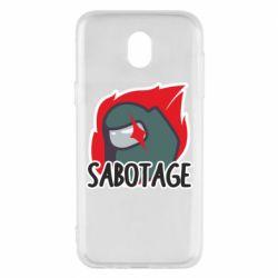 Чохол для Samsung J5 2017 Among Us Sabotage