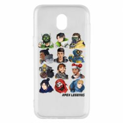 Чохол для Samsung J5 2017 Apex legends heroes