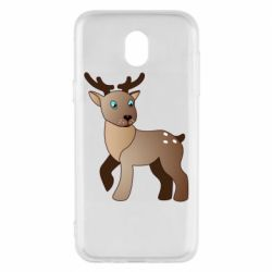 Чехол для Samsung J5 2017 Cartoon deer