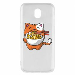 Чохол для Samsung J5 2017 Cat and Ramen