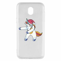 Чохол для Samsung J5 2017 Christmas Unicorn