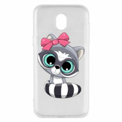 Чехол для Samsung J5 2017 Cute raccoon