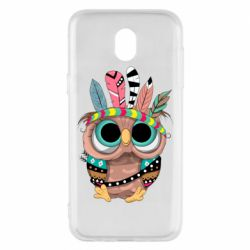 Чохол для Samsung J5 2017 Little owl with feathers