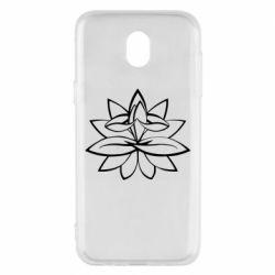 Чохол для Samsung J5 2017 Lotus yoga