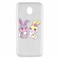 Чохол для Samsung J5 2017 Rabbits In Love