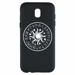 Чохол для Samsung J5 2017 Sun in runes