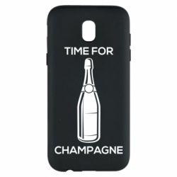 Чохол для Samsung J5 2017 Time for champagne